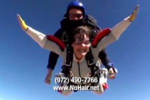 NuHair Hair Replacement DFW TX skydive